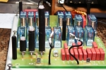AT-502 Repaired: All RG-58 capacitors are replaced by RG-213 ones